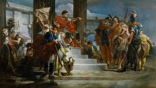 18th Century Wall Art - Painting - Scipio Africanus Freeing Massiva by Giovanni Battista Tiepolo