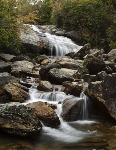 North Carolina Waterfalls Photograph - Second Falls - Blue Ridge Falls by Andrew Soundarajan