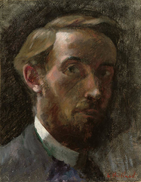 Painting - Self Portrait by Edouard Vuillard