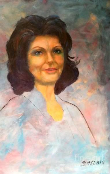 Selfportrait Painting - Selfportrait by Dagmar Helbig