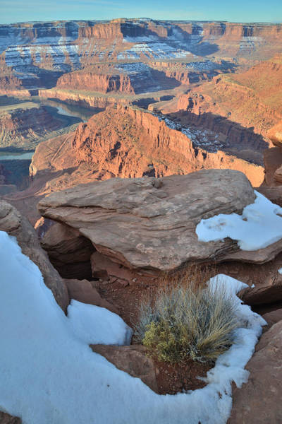 Photograph - Shafer Trail Overlook by Ray Mathis