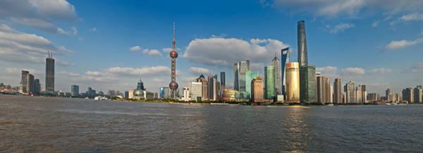 Photograph - Shanghai Skyline by U Schade