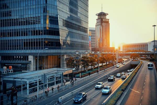 Photograph - Shanghai  by Songquan Deng