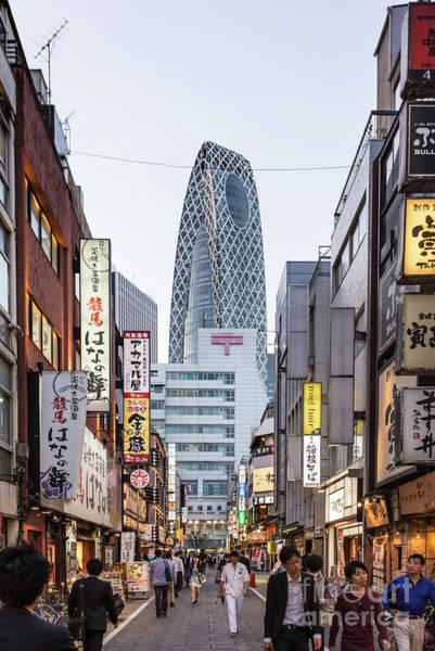 Photograph - Shinjuku Nights In Tokyo by Didier Marti