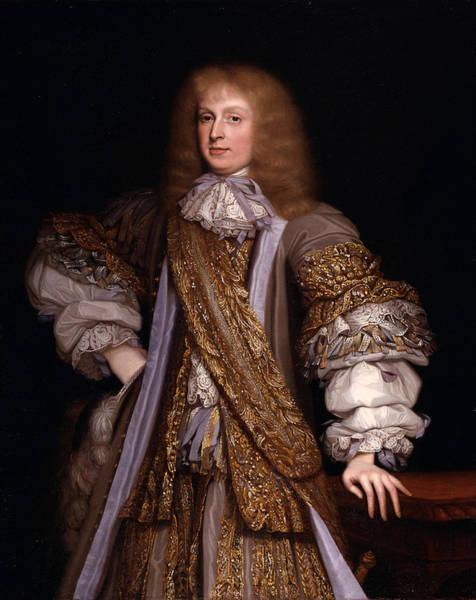 John Michael Wright Wall Art - Painting - Sir John Corbet Of Adderley by John Michael Wright