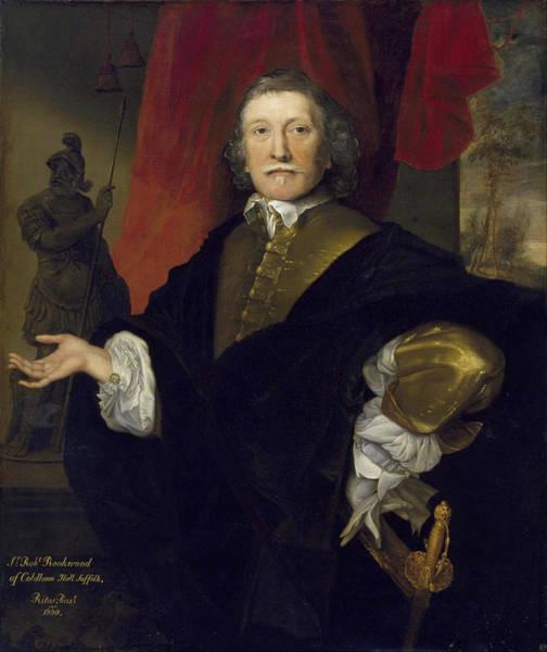 John Michael Wright Wall Art - Painting - Sir Robert Rookwood by John Michael Wright