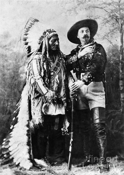 Sitting Bull Photograph - Sitting Bull (1834-1890) by Granger
