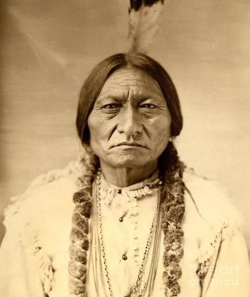 Sitting Bull Photograph - Sitting Bull by American School
