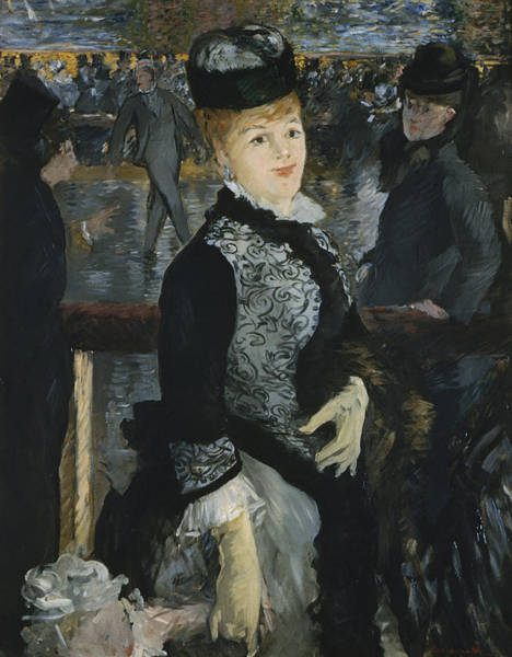 Figure Skater Painting - Skating by Edouard Manet