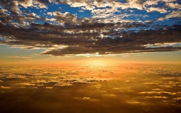 Sunset Digital Art - Sky by Maye Loeser