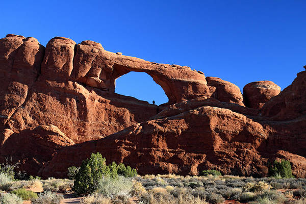 Photograph - Skyline Arch In Arches National Park by Pierre Leclerc Photography