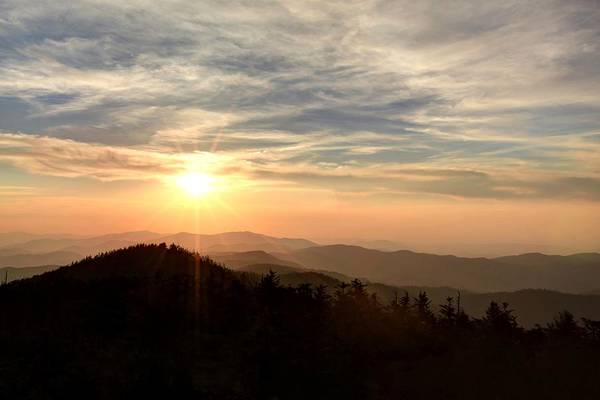 Wall Art - Photograph - Smoky Mountain Sunset by Doug McPherson
