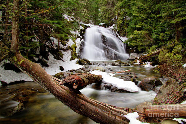 Boundary County Photograph - Snow Creek Falls by Idaho Scenic Images Linda Lantzy