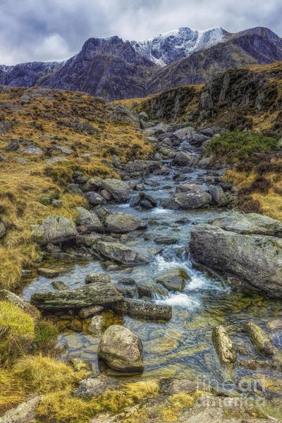 Photograph - Snowdonia Mountains by Ian Mitchell