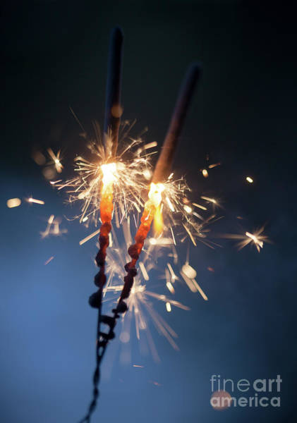 Wall Art - Photograph - Sparkler by Kati Finell