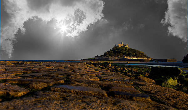 Cornwall Photograph - St Michaels Mount by Martin Newman