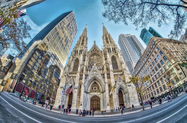 Wall Art - Photograph - St. Patrick's Cathedral by June Marie Sobrito