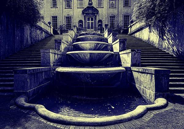 Wall Art - Photograph - Stairway And Cascade Of Fountains - Swan House Museum, Atlanta Georgia by Mountain Dreams