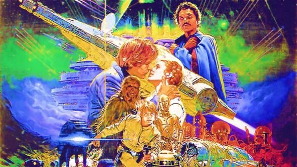 Star Wars Episode 3 Wall Art - Digital Art - Star Wars Episode Art by Larry Jones