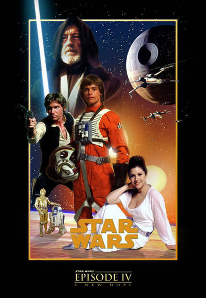 Sith Digital Art - Star Wars Episode Iv - A New Hope 1977 by Geek N Rock