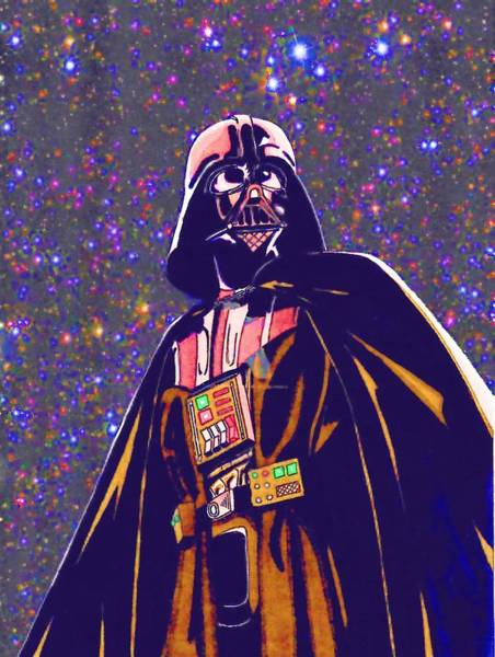 Star Wars Episode 3 Wall Art - Digital Art - Star Wars The Art by Larry Jones