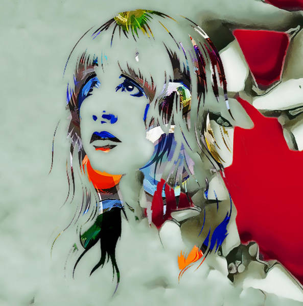 Stevie Nicks Digital Art - Stevie Nicks by Love Art