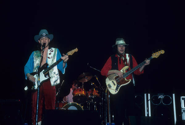 Photograph - Stevie Ray Vaughn And Double Trouble by Rich Fuscia