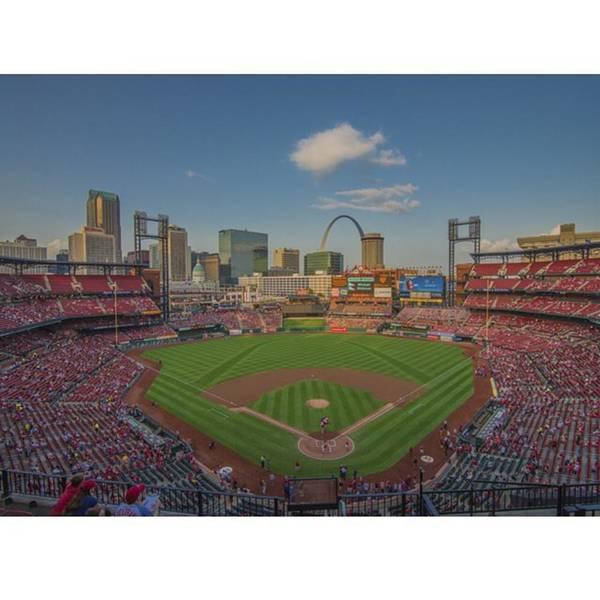 Baseball Wall Art - Photograph - #stlouiscardinals #cardinals by David Haskett II