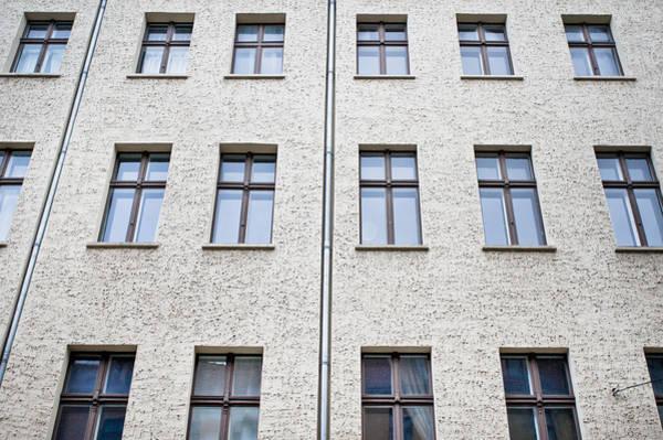 Multi-storey Wall Art - Photograph - Stone Building by Tom Gowanlock