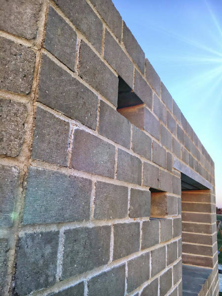 Wall Art - Photograph - Stone Wall Detail by Tom Gowanlock