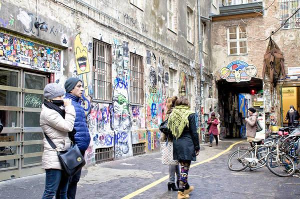 Wall Art - Photograph - Street Art by Tom Gowanlock