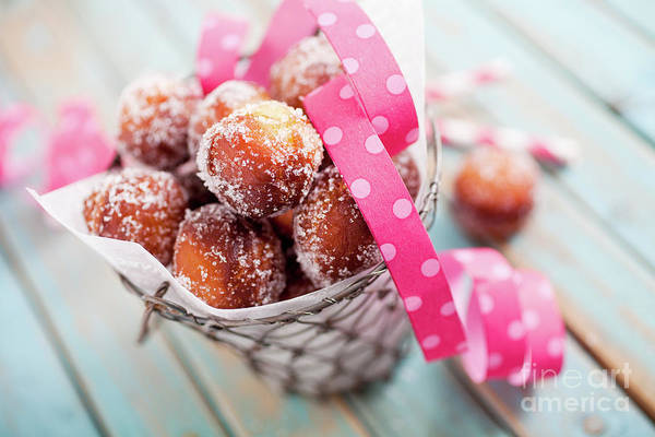 Wall Art - Photograph - Sugar Donuts by Kati Finell