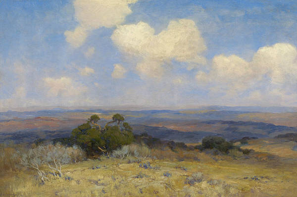 Painting - Sunlight And Shadow by Julian Onderdonk