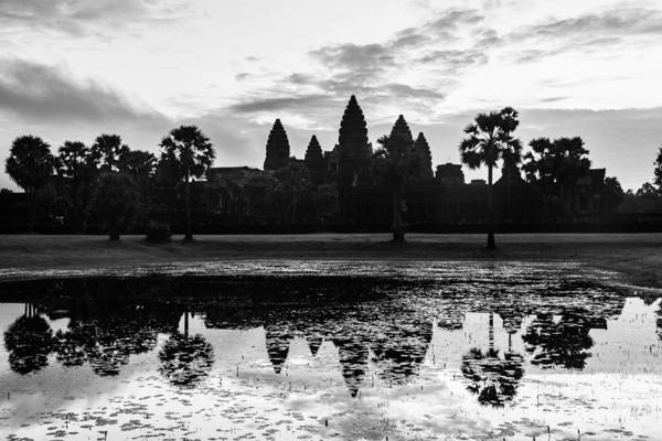 Photograph - Sunrise Over Angkor Wat by Didier Marti