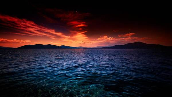 Digital Art - Sunset by Maye Loeser