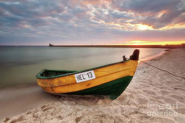Photograph - Sunset On The Beach by Mariusz Talarek