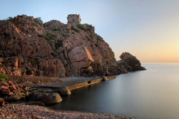 Calvi Photograph - sunset Porto - Corsica by Joana Kruse