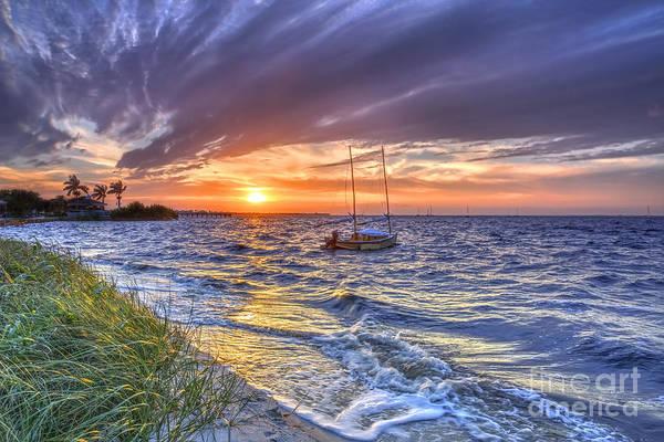 Wall Art - Photograph - Sunset Sail by Rick Mann