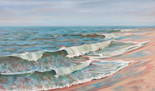 Painting - Surf by Gary M Long