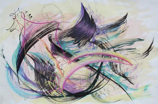 Wall Art - Painting - Taking Flight by Asha Carolyn Young