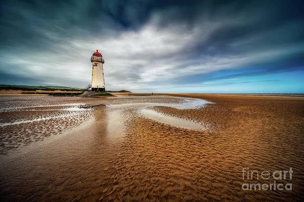 Wall Art - Photograph - Talacre Lighthouse by Adrian Evans