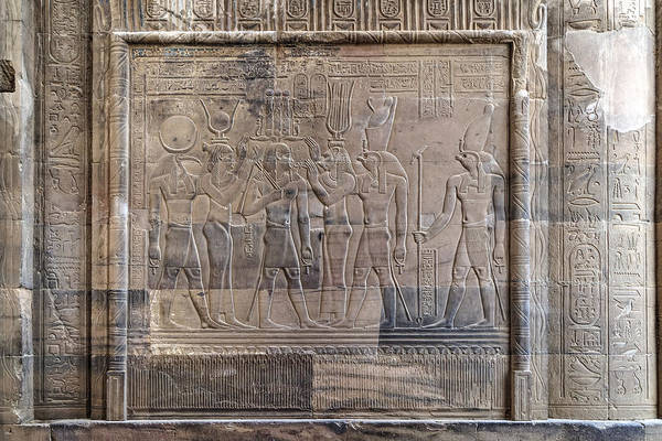 Er Photograph - Temple Of Kom Ombo - Egypt by Joana Kruse