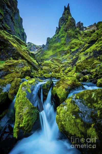 Photograph - Thakgil Ravine by Inge Johnsson
