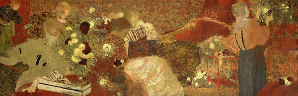 Painting - The Album by Edouard Vuillard