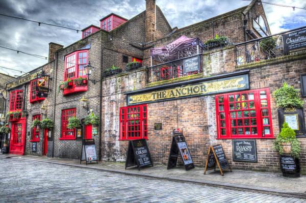 Bankside Photograph - The Anchor Pub London by David Pyatt