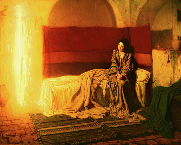 Gabriel Painting - The Annunciation by Henry Ossawa Tanner
