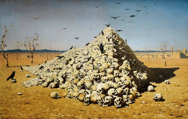 Painting - The Apotheosis Of War by Vasily Vereshchagin