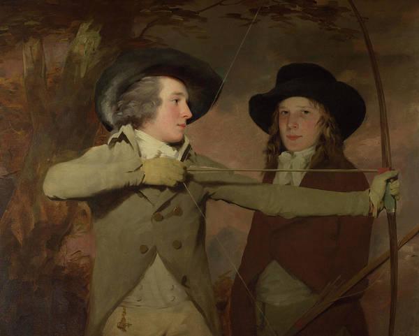 Aim Painting - The Archers by Sir Henry Raeburn
