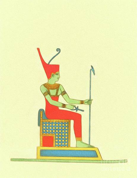 Wall Art - Painting - The Art Of Ancient Egypt by Pierre Blanchard