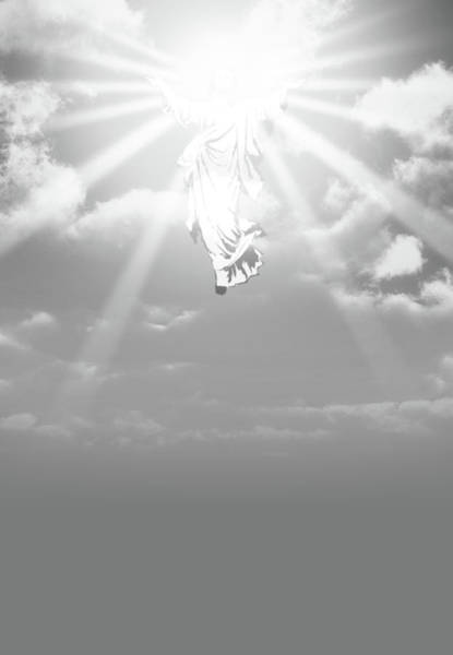 Wall Art - Digital Art - The Ascension And Resurrection by Allan Swart